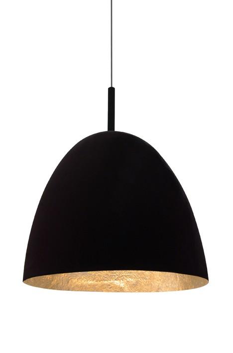 sompex pendelleuchte dino schwarz blattgold. Black Bedroom Furniture Sets. Home Design Ideas