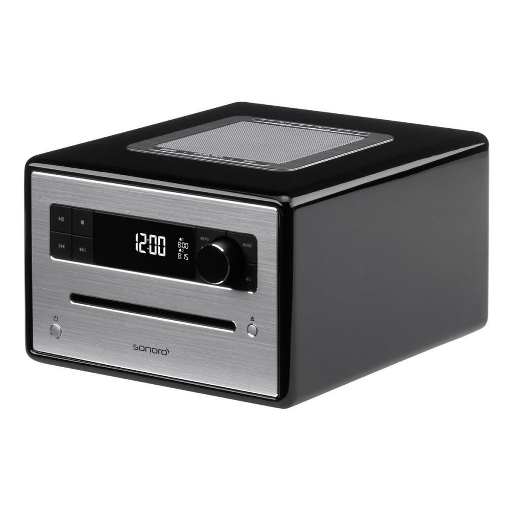 CD Musiksystem, schwarz